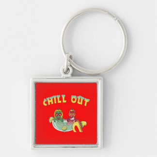 Chill Out  Custom Keychain
