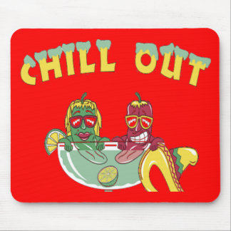 Chill Out Custom Mouse Pad