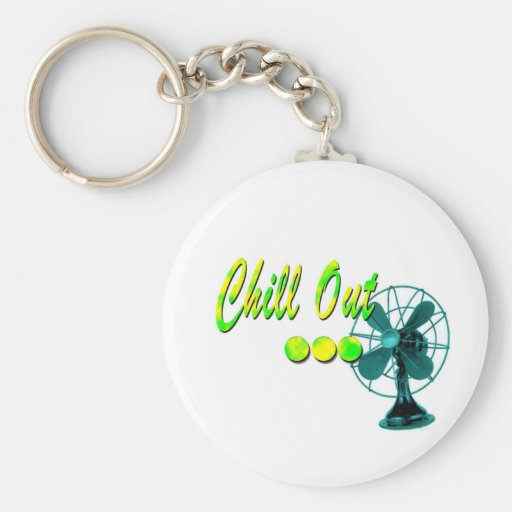 Chill Out! Key Chains