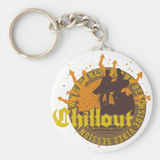 Chill Out Keychain