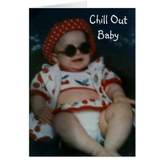 """CHILL OUT ON YOUR """"30th"""" BIRTHDAY Greeting Card"""