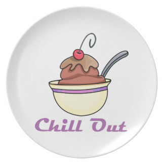 Chill Out Dinner Plate