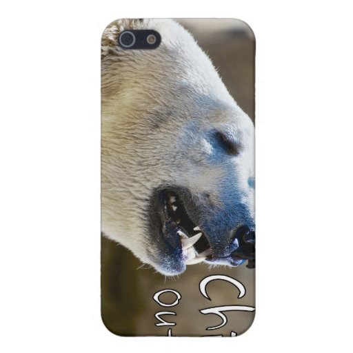 Chill out! polar bear cover for iPhone 5