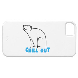 Chill Out Polar Bear iPhone SE/5/5s Case