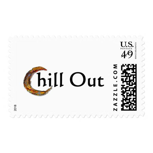 Chill Out Postage Stamp