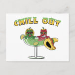Chill Out Postcard
