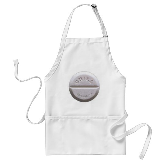 Chill Pill Adult Apron