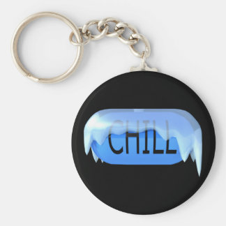 Chill Pill Blue Keychain 02