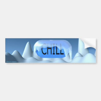 Chill Pill Bumper Sticker