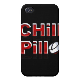 Chill Pill Funny PMS iPhone 4 Covers