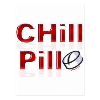Chill Pill Funny PMS Postcard