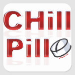 Chill Pill Funny PMS Stickers