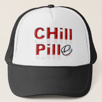 Chill Pill Funny PMS Trucker Hat