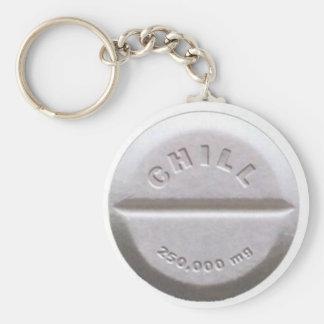Chill Pill Keychain