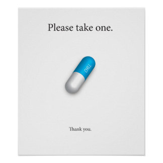 Chill Pill Poster