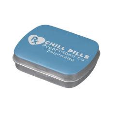 CHILL PILLS custom mint tins Candy Tin at Zazzle