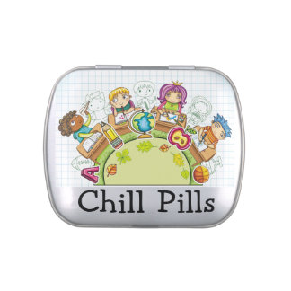 Chill Pills - Jelly Beans - SRF Jelly Belly Tin