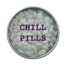 Chill Pills ( Mints) Jelly Belly Candy Tins at Zazzle