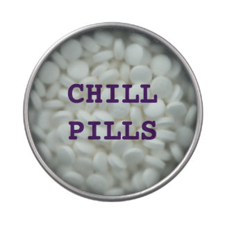 CHILL PILLS ( MINTS) JELLY BELLY CANDY TINS