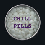 "CHILL PILLS ( MINTS) JELLY BELLY TIN<br><div class=""desc"">CHILL PILLS ( MINTS )</div>"