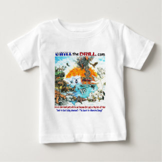 """""""Chill the Drill!"""" Nature & Wildlife Baby T-Shirt"""
