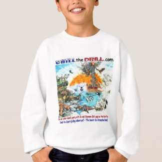 """""""Chill the Drill!"""" Nature & Wildlife Sweatshirt"""