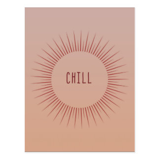 Chill Time Postcard