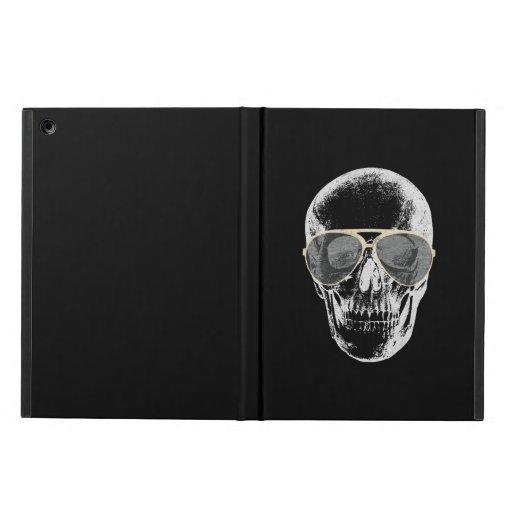 Chill Vintage Skull in Sunglasses iPad Air Case