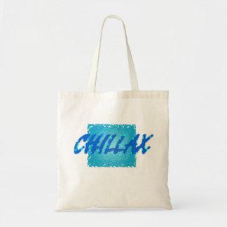 chillax tote bags
