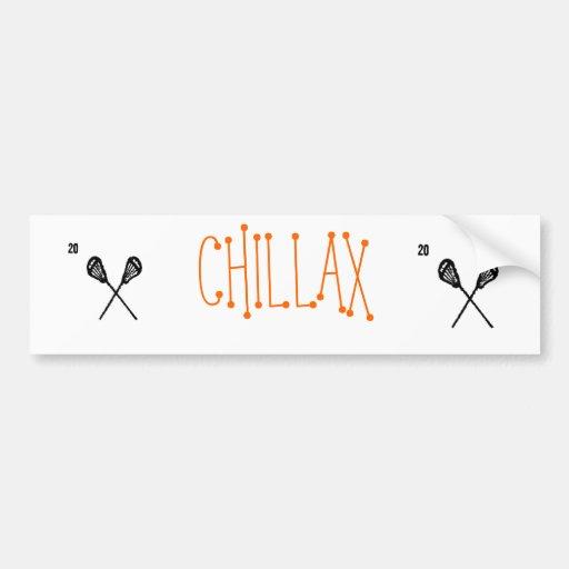 CHILLAX BUMPER STICKER