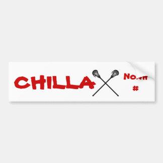 Chillax Etiqueta De Parachoque