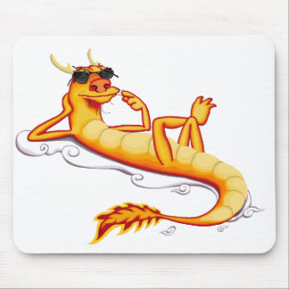 Chillax Dragon Mouse Pad