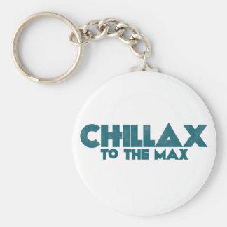Chillax Llavero Redondo Tipo Pin