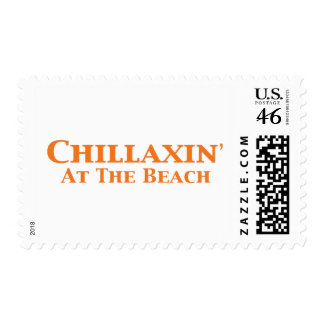 Chillaxin At The Beach Gifts Stamps