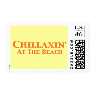 Chillaxin At The Beach Gifts Stamp