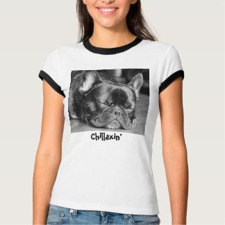Chillaxin' French Bulldog T-Shirt