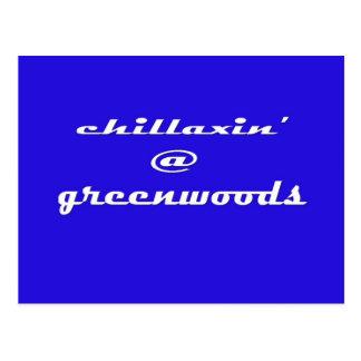 Chillaxin' @ Greenwoods Postcard