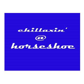Chillaxin' @ Horseshoe Postcard
