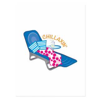 Chillaxin Postcard