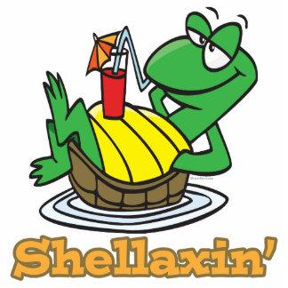 chillaxin shellaxin chill relaxing cute turtle cut outs