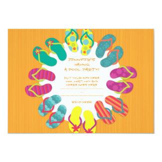 "Chillaxing 5"" X 7"" Invitation Card"