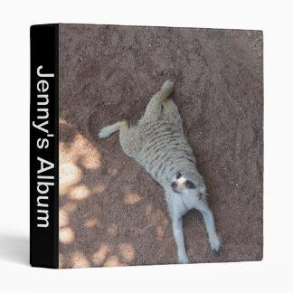 Chilled Meerkat Binder