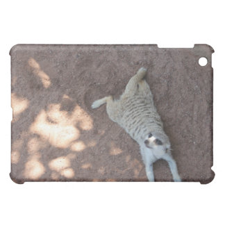 Chilled Meerkat iPad Mini Covers
