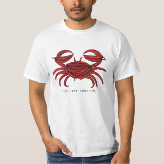 CHILLI CRAB, SINGAPORE T-Shirt