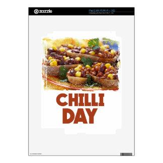 Chilli Day - Appreciation Day iPad 2 Decals