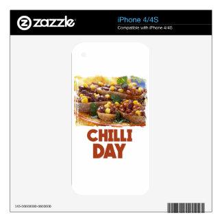 Chilli Day - Appreciation Day Skin For iPhone 4
