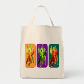 Chilli design canvas bag
