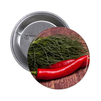 Chilli Pepper Pinback Buttons