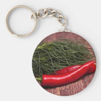 Chilli Pepper Keychains