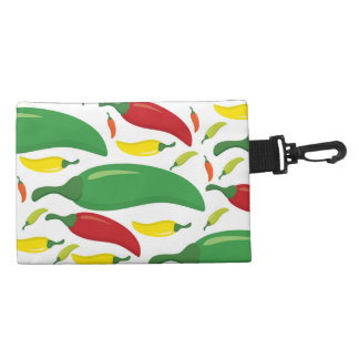 Chilli pepper pattern accessory bag